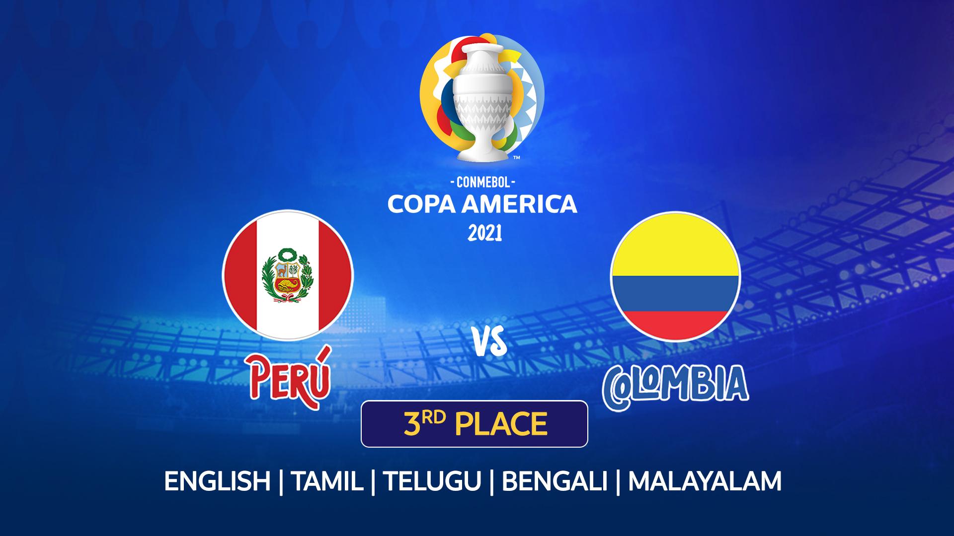 Peru vs Colombia Live Streaming - Copa America 2021 - 10th ...